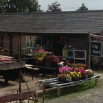 Vintage tea rooms at Eastnor near Ledbury