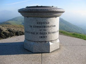 The Malvern hills Jubilee toposcope