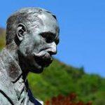 Malvern tourist information Edward Elgar statue