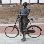 One of many statue's of Edward Elgar