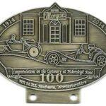 Morgan Auto car badge 100 year Celebration