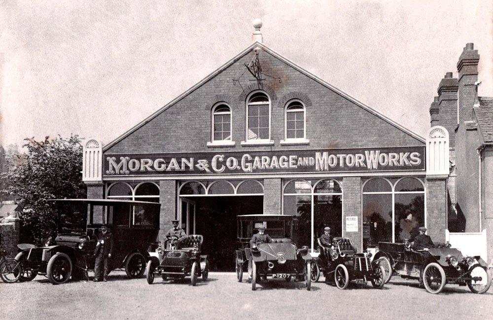 Morgan Motors British Family Run Business Orchard Side