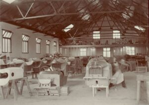 Morgan Motors factory Malvern