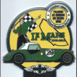 Morgan Auto plus 4 supersport Le Mans 50th Anniversary badge