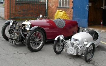 Morgan Auto Are Still Building Cars Today In Malvern