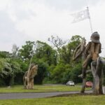 Battle of tewkesbury Sculpture