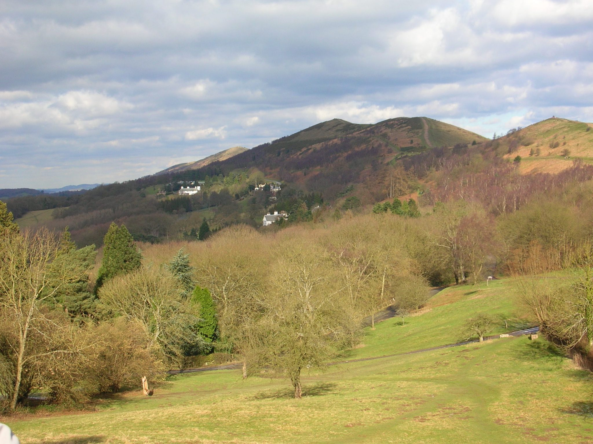 Malvern Hills from Black Hill