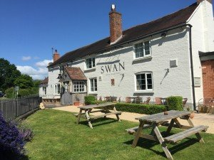 The Swan Inn close to Orchard Side B&B perfect Malvern Accommodation