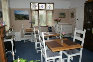 Breakfast Room at Orchard Side Malvern Bed and Breakfast