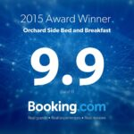 orchard side bed and breakfast booking.com award