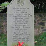Alice Elgar buried at St Wulstans Church, Little Malvern