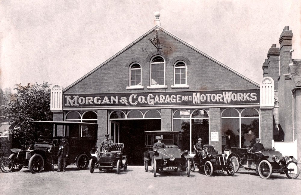 Morgan motors british family run business orchard side for G stone motors used cars