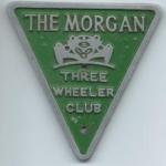 Morgan Auto 3 wheeler club badge