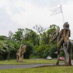 Battle of tewkesbury Sculpture