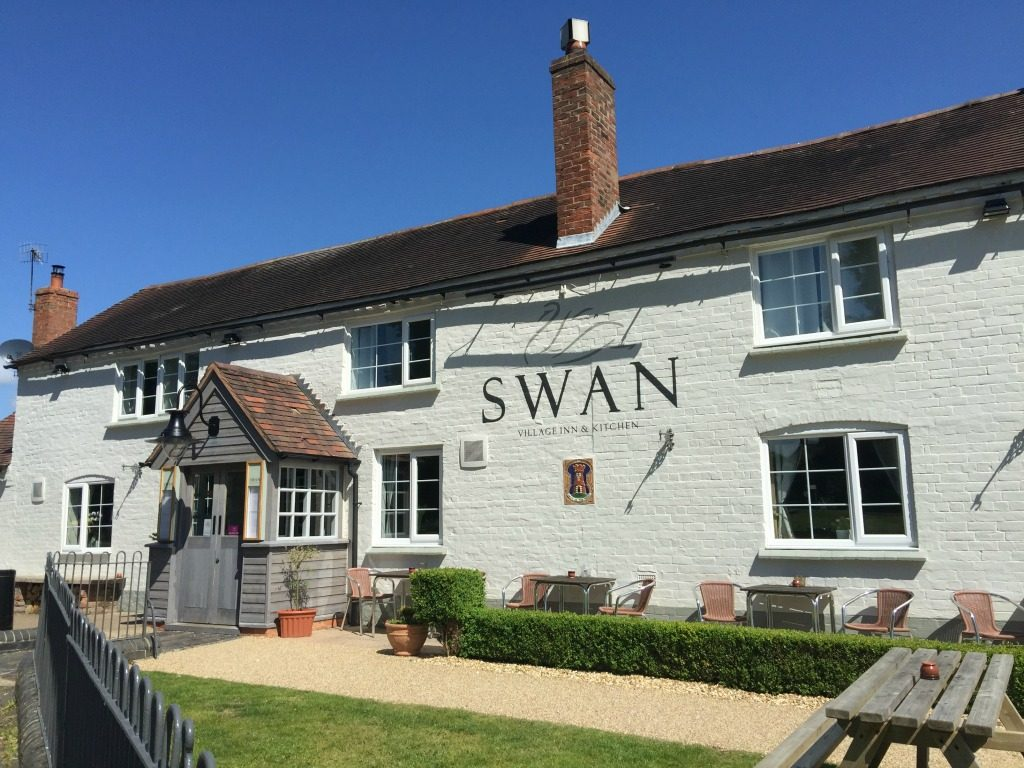 The Swan Inn in Hanley Swan near Orchard Side Bed and Breakfast